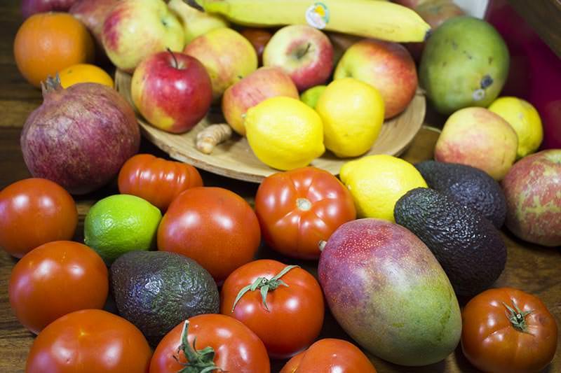 Vorteile Rohkost Vegan Fruechte Obst nah