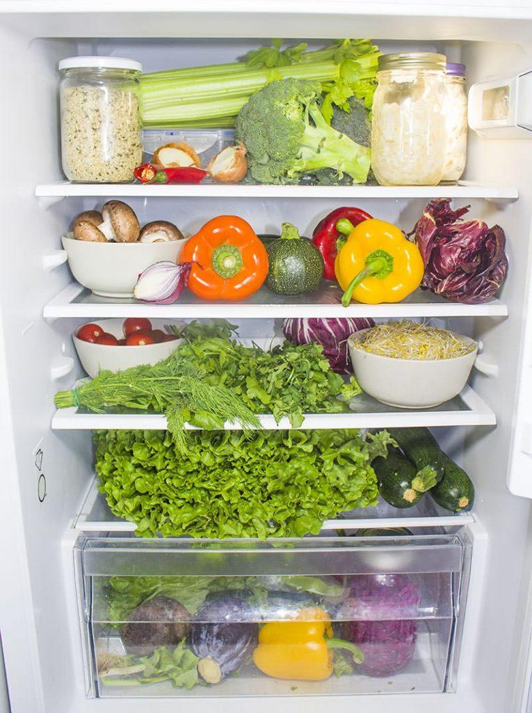 Vorteile-Rohkost-Vegan-Kuelschrank