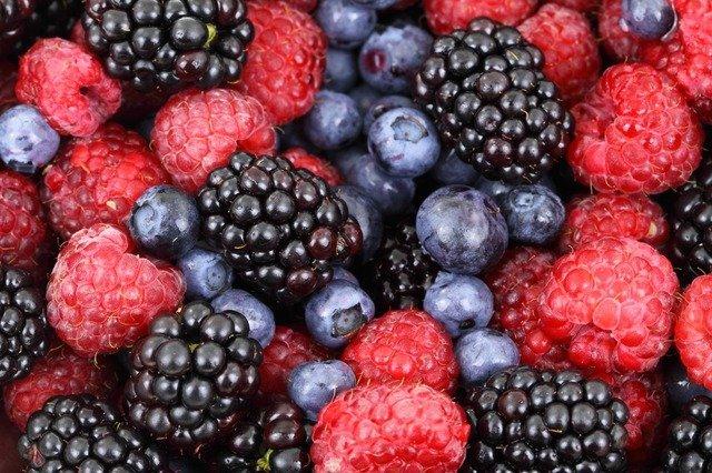 Beeren - bieten Abkühlung bei Sommerhitze