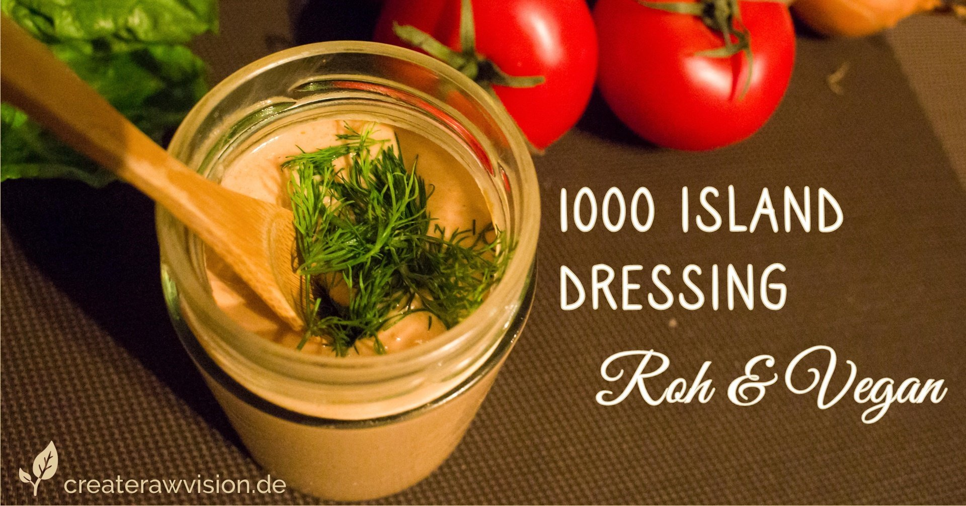 1000 Island Dressing Roh & Vegan