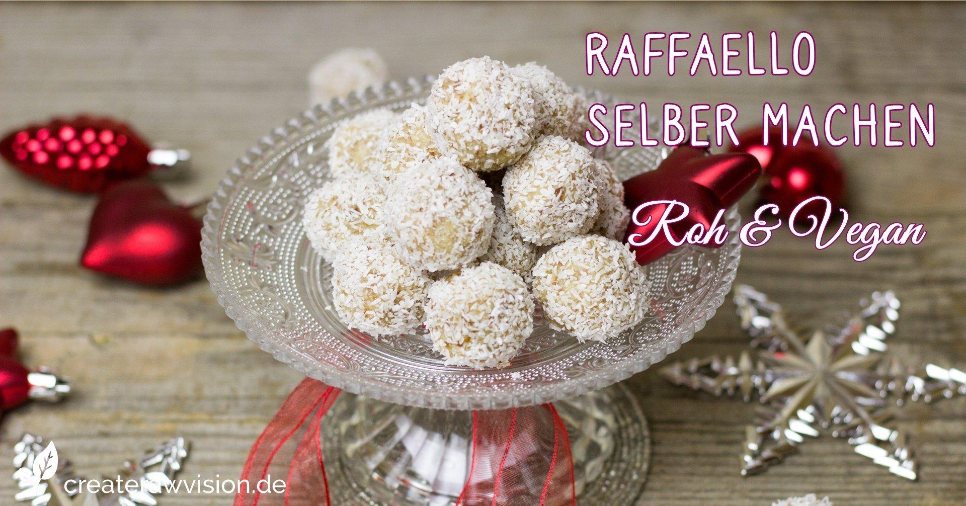 Raffaello auf Teller