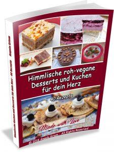Buch Himmlische roh-vegane Desserts und Kuchen für dein Herz
