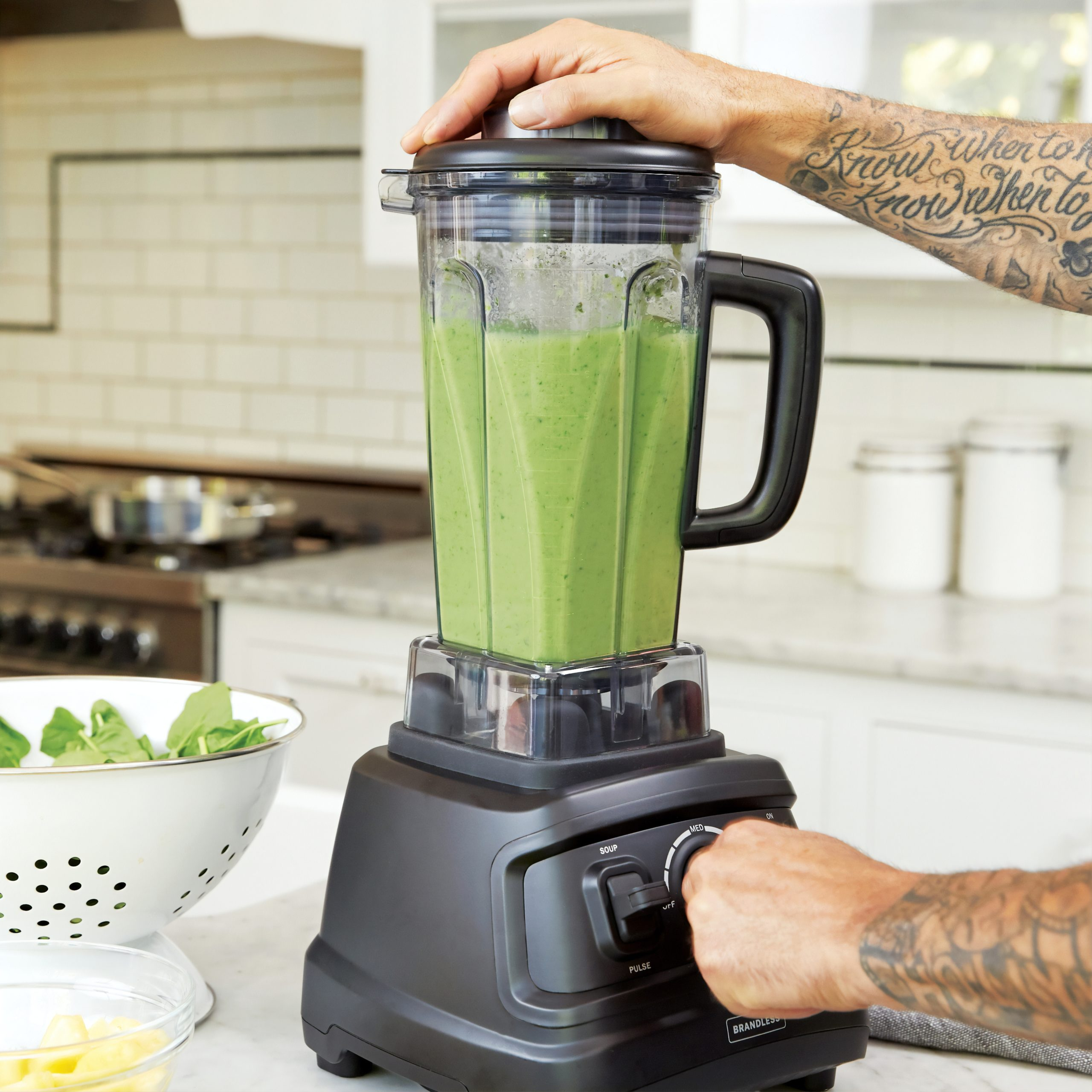 grüner smoothie mixen
